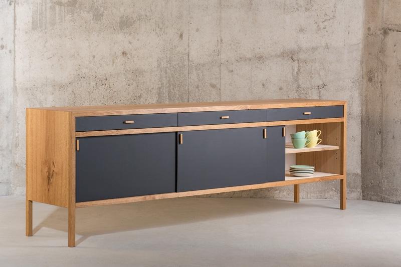 sideboard nach mass in massivholz eiche On design for you möbel